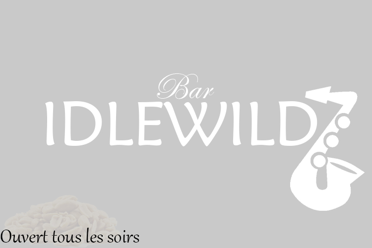 Le catalogue du bar Idlewild Testba10