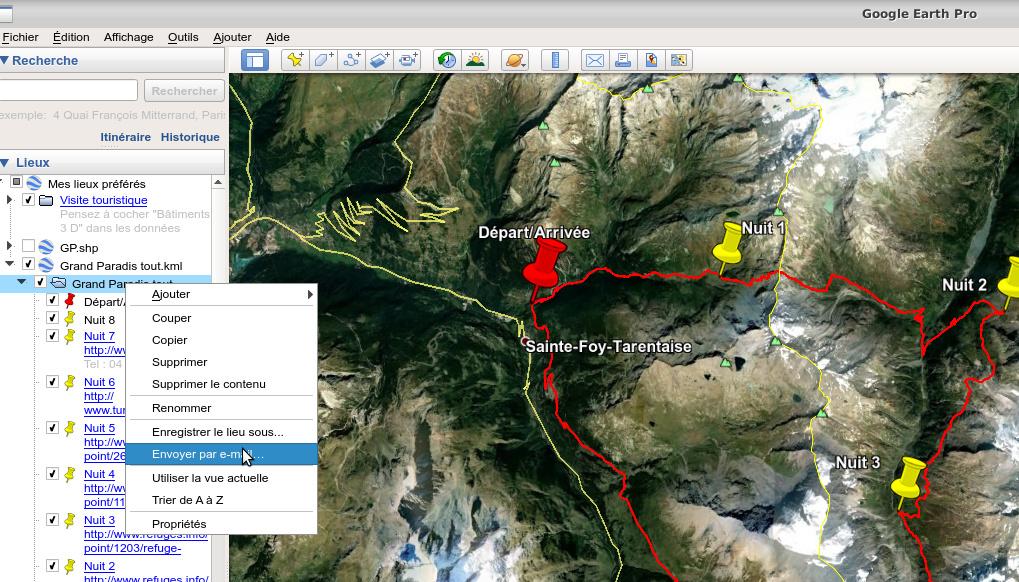 [résolu] Partage de trace : envoi par mail dans Google Earth impossible Captur10