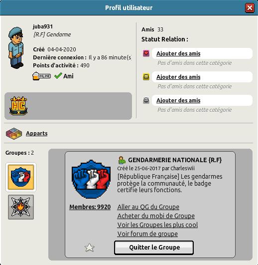 [G.N] Rapports de Patrouilles de Kxllyy Juba9310
