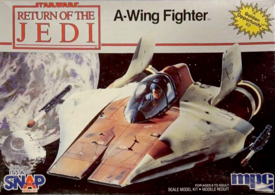 """A-Wing - Return of the Jedi : """"Vieux ! Mais pas obsolète !"""" A_wing10"""