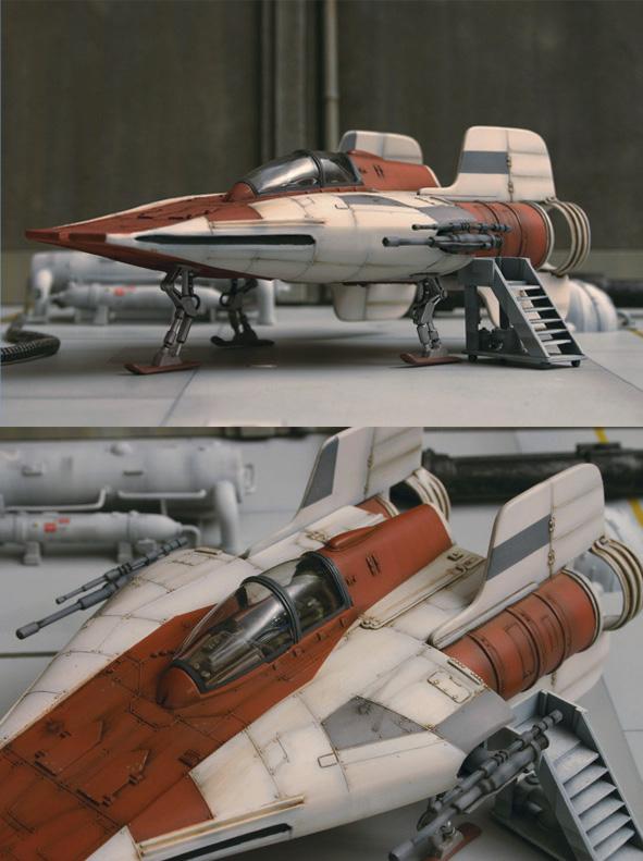 """A-Wing - Return of the Jedi : """"Vieux ! Mais pas obsolète !"""" Awing_12"""