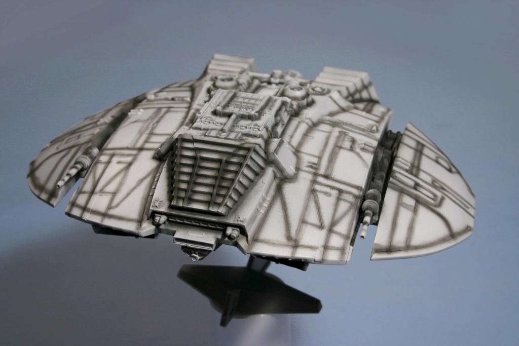 Battlestar Galactica - Cylon Raider - Revell Cylon_22