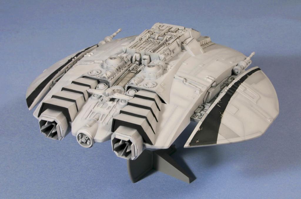 Battlestar Galactica - Cylon Raider - Revell Cylon_27