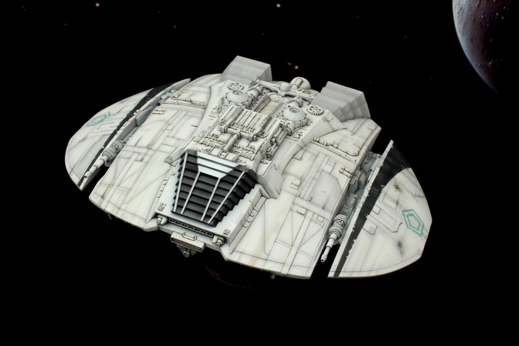 Battlestar Galactica - Cylon Raider - Revell Cylon_30