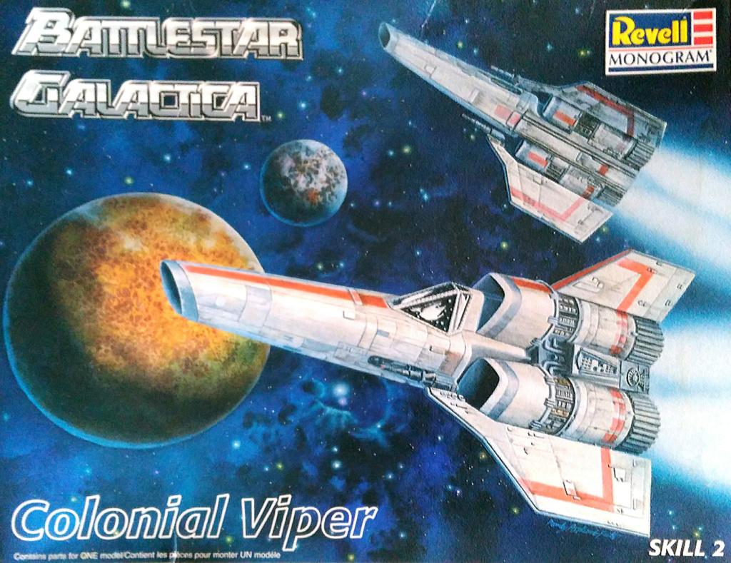 Colonial Viper - Battlestar Galactica - Monogram Galact14