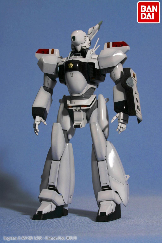 Patlabor - Shinohara AV-98 Ingram 3 Ingram10