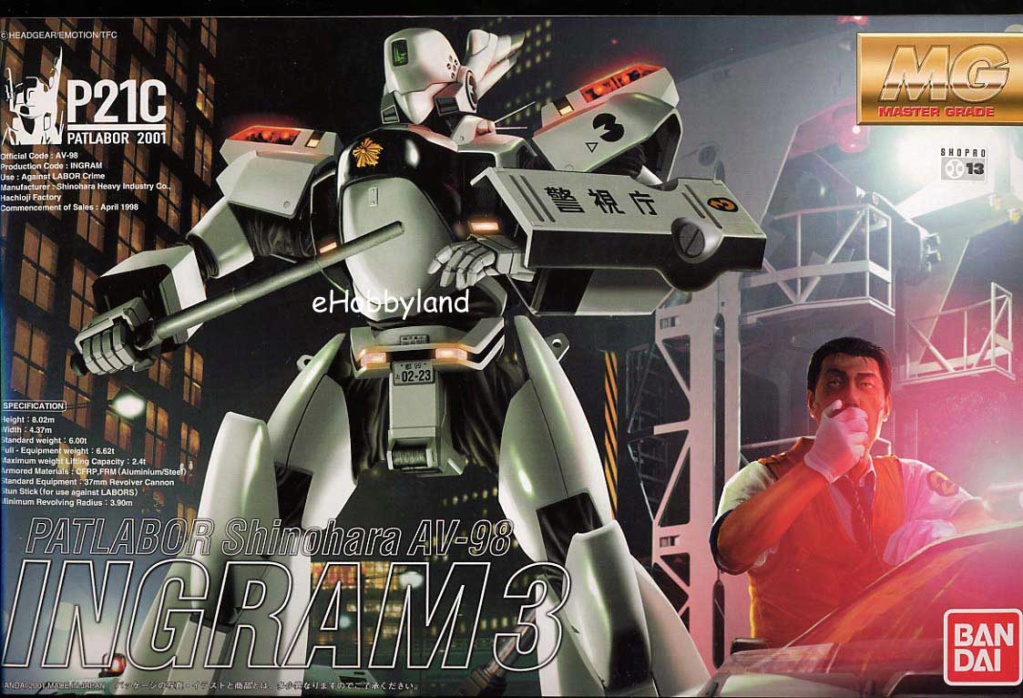 Patlabor - Shinohara AV-98 Ingram 3 Mg-pat10