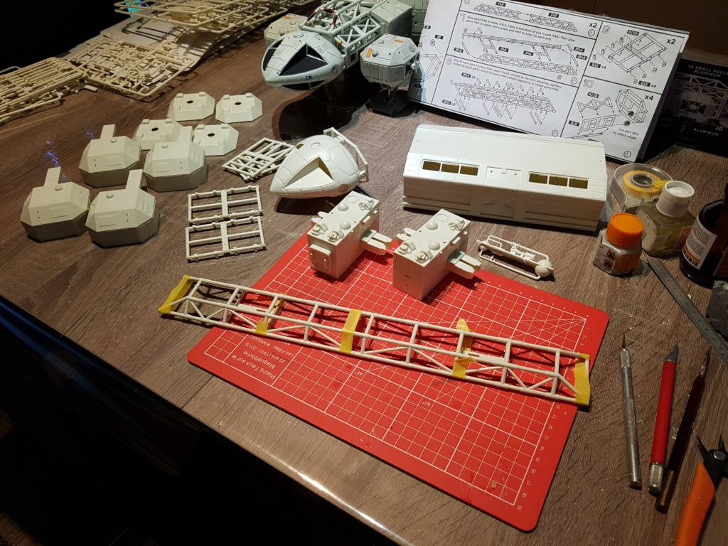 Space 1999 - Eagle transporter - MPC 1/48 Space_16
