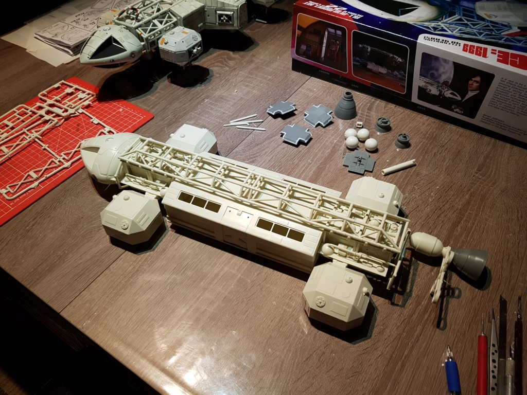 Space 1999 - Eagle transporter - MPC 1/48 Space_18
