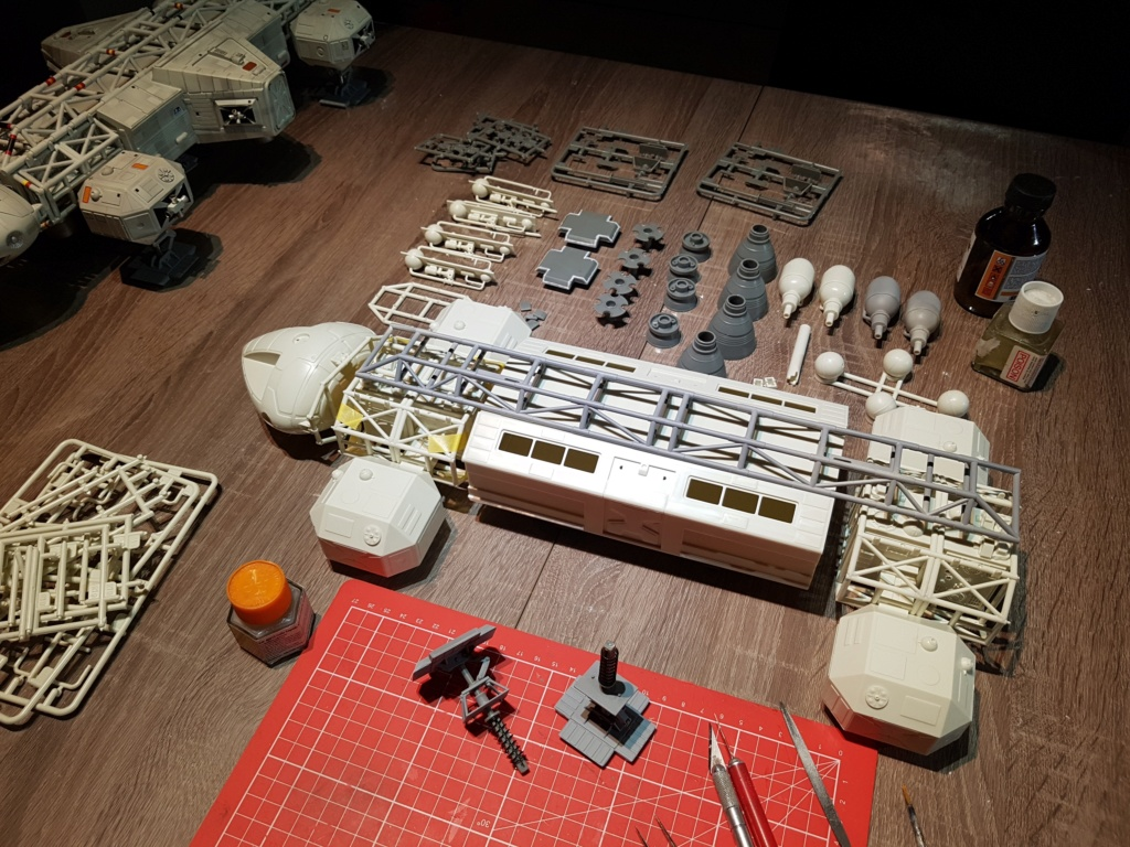 Space 1999 - Eagle transporter - MPC 1/48 Space_20