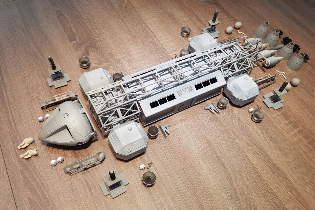 Space 1999 - Eagle transporter - MPC 1/48 Space_22