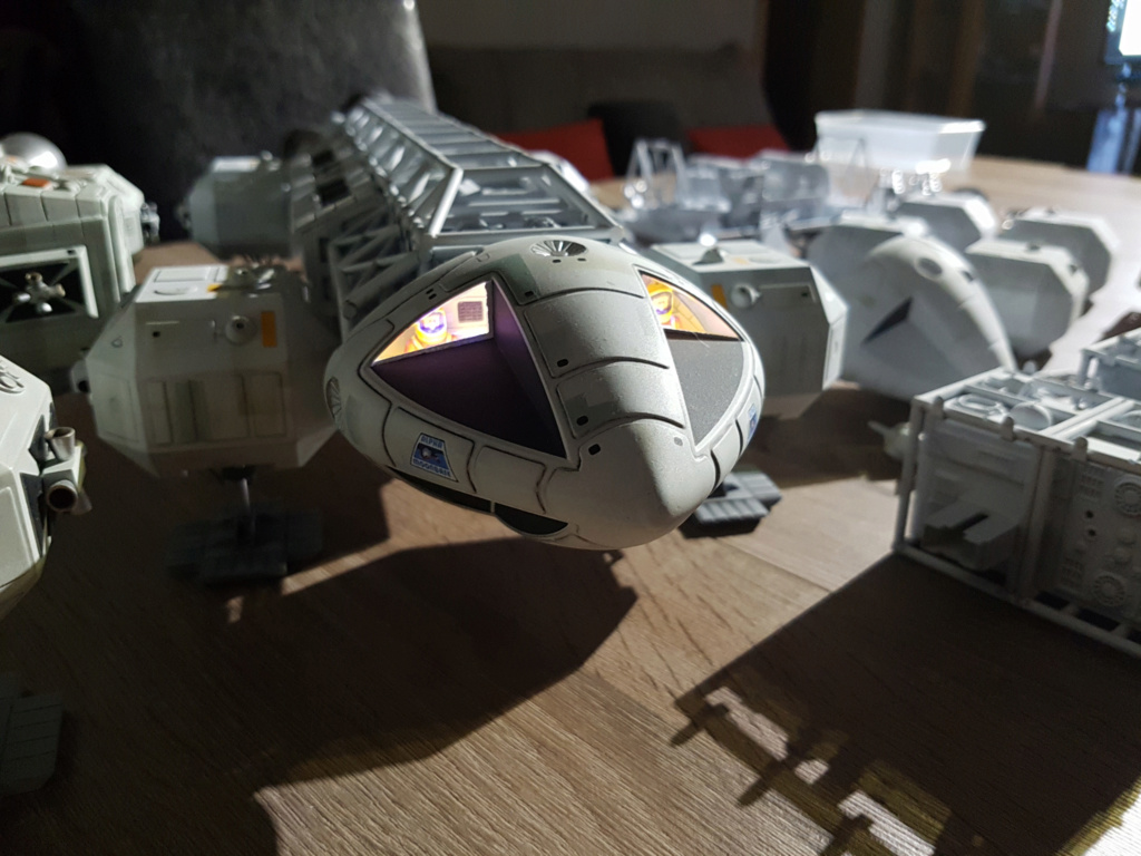Space 1999 - Eagle transporter - MPC 1/48 Space_32