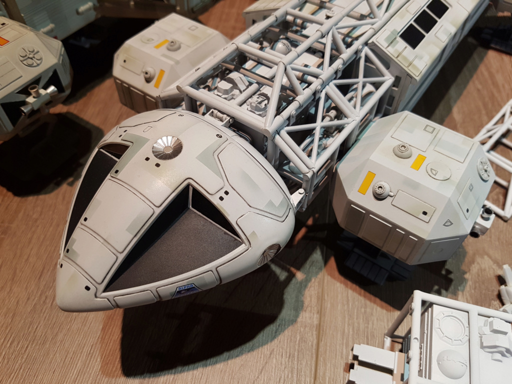 Space 1999 - Eagle transporter - MPC 1/48 Space_33