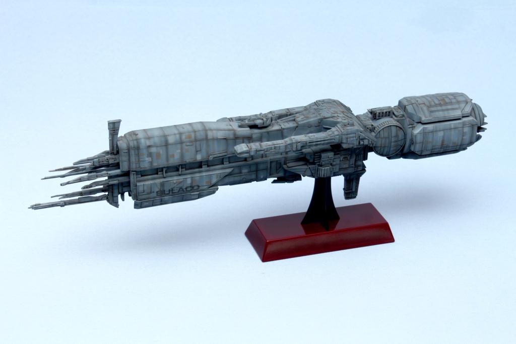 USS Sulaco - Aliens - 1/2400 Halcyon-Aoshima Sulaco11
