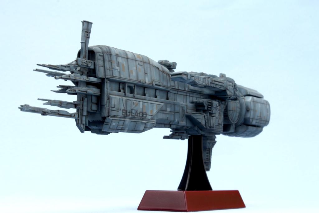 USS Sulaco - Aliens - 1/2400 Halcyon-Aoshima Sulaco13