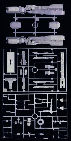 USS Sulaco - Aliens - 1/2400 Halcyon-Aoshima Sulaco16