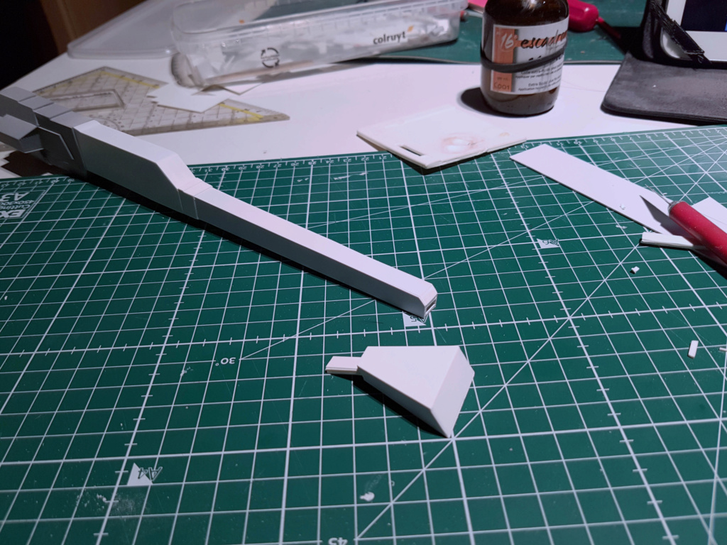 Ulysse 31 Trident - From Scratch (screen accurate). Ulysse44