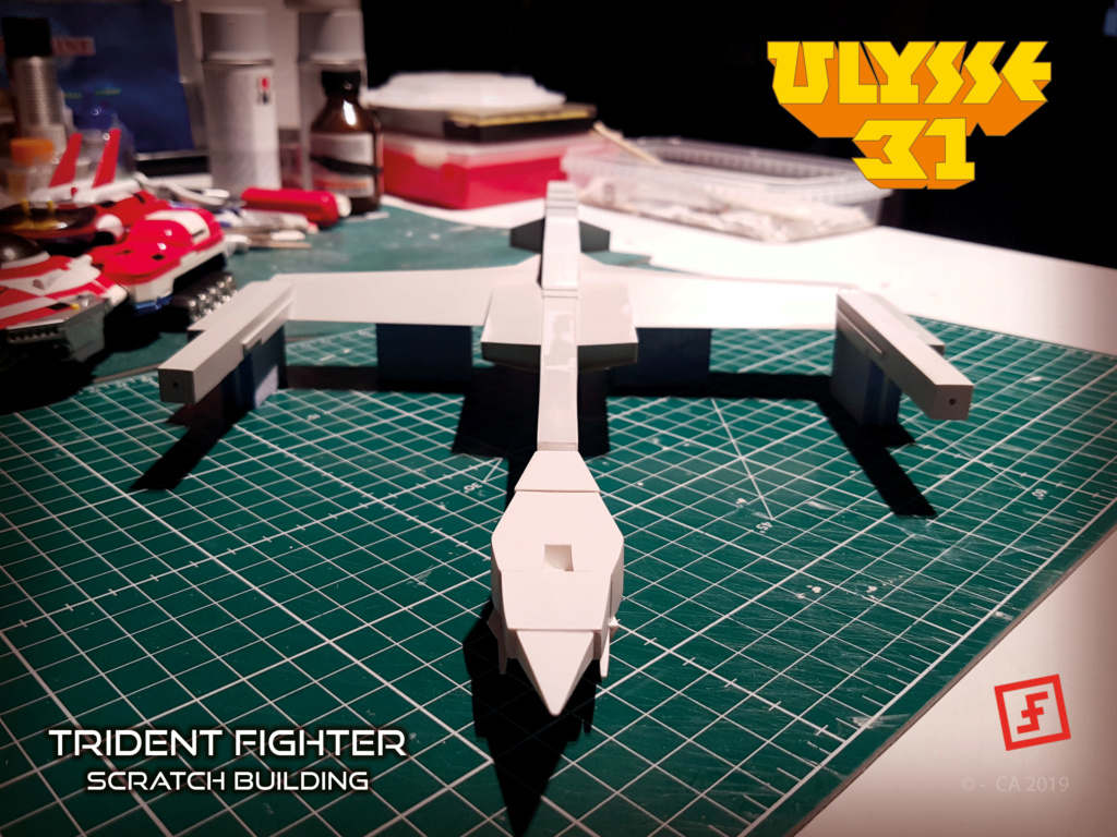 Ulysse 31 Trident - From Scratch (screen accurate). Ulysse80
