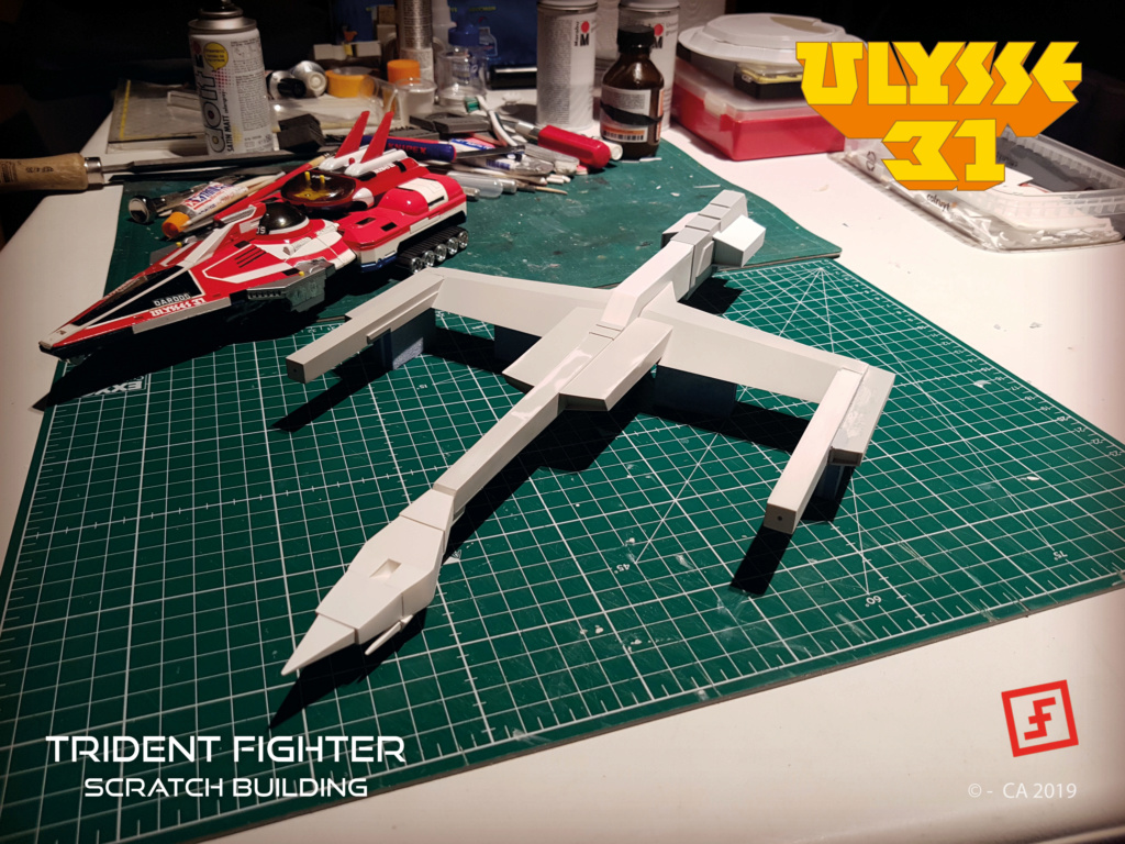 Ulysse 31 Trident - From Scratch (screen accurate). Ulysse81