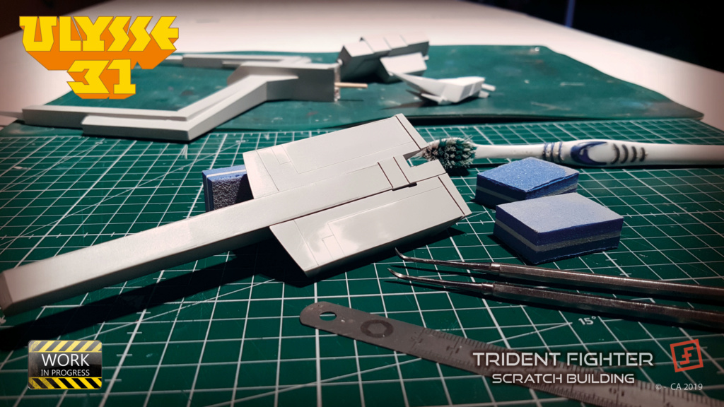 Ulysse 31 Trident - From Scratch (screen accurate). Ulysse86