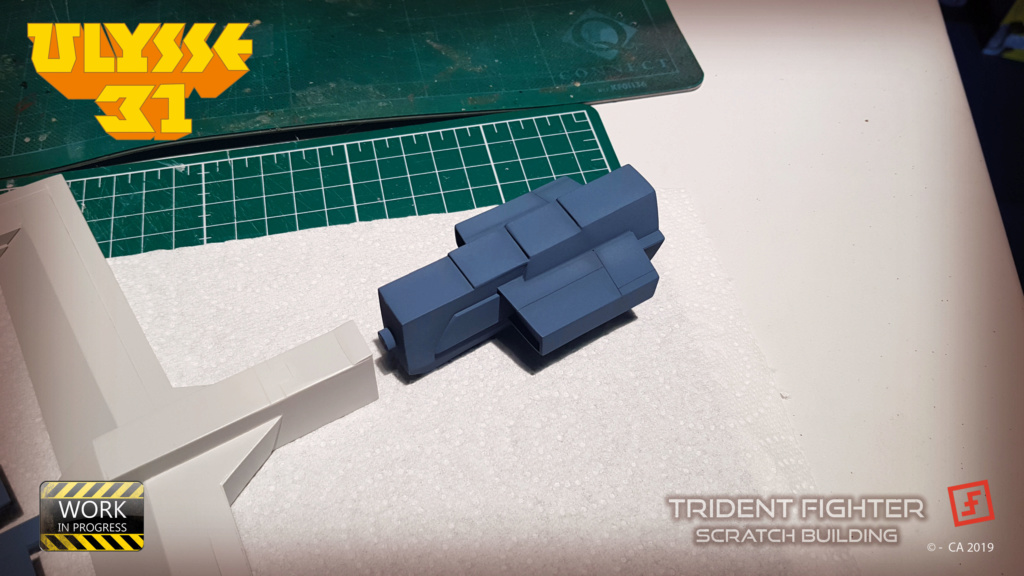 Ulysse 31 Trident - From Scratch (screen accurate). Ulysse87