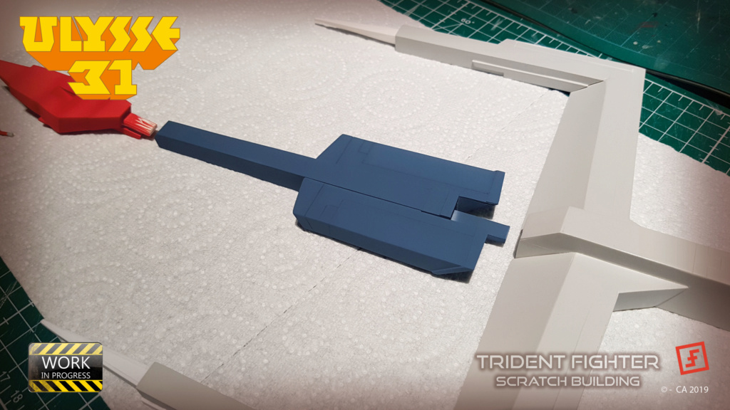 Ulysse 31 Trident - From Scratch (screen accurate). Ulysse88