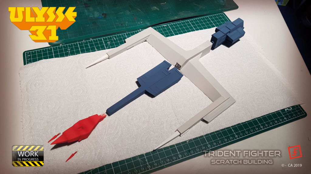 Ulysse 31 Trident - From Scratch (screen accurate). Ulysse89