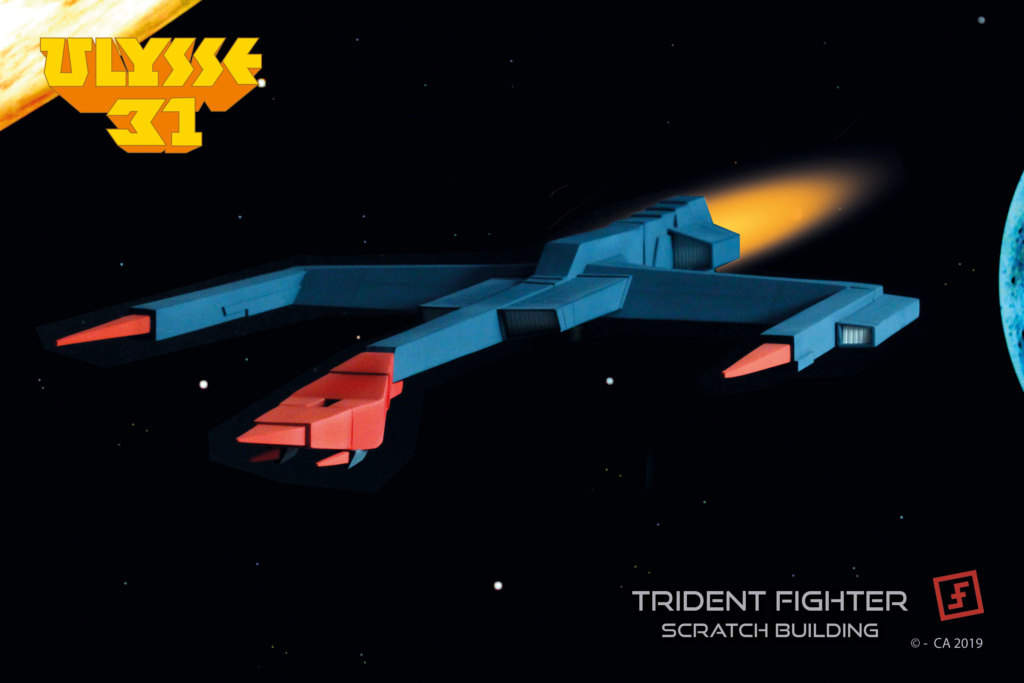 Ulysse 31 Trident - From Scratch (screen accurate). Ulysse91
