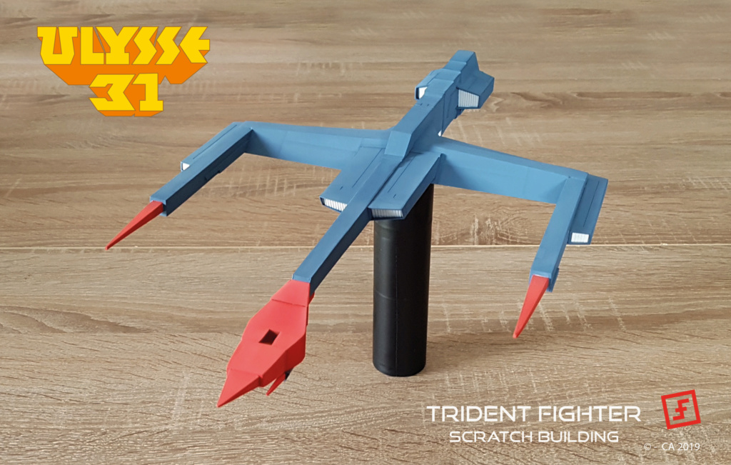 Ulysse 31 Trident - From Scratch (screen accurate). Ulysse93