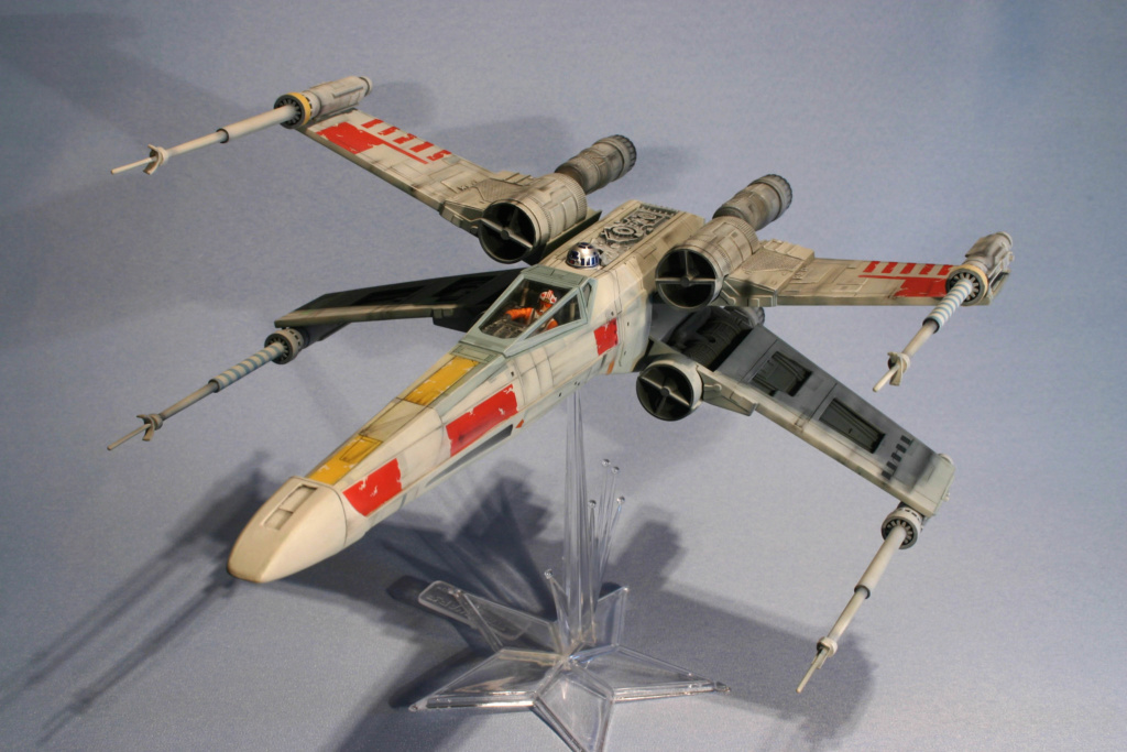 X-wing - Airfix - Return of the Jedi - Vintage model X-wing14