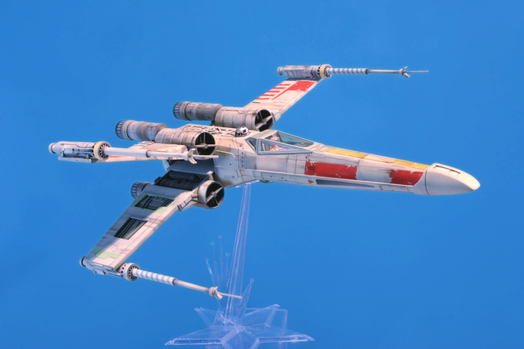 X-wing - Airfix - Return of the Jedi - Vintage model X-wing16