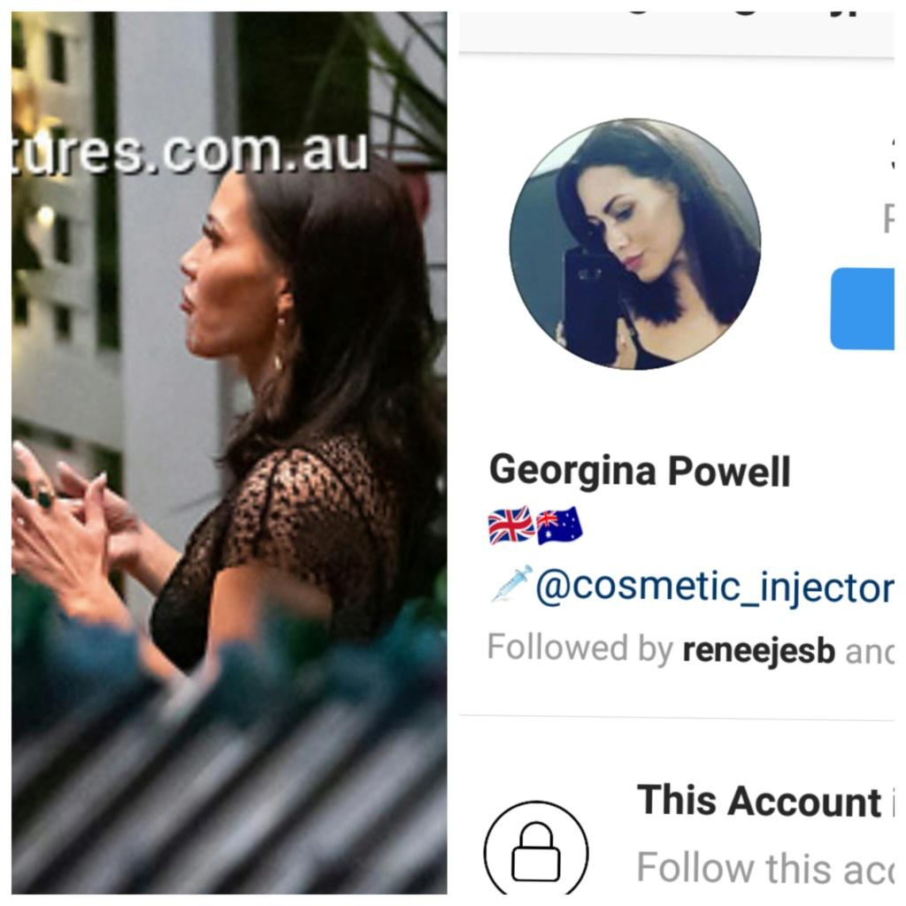 Georgina Powell - Black Sheer Dress/Brunette - Bachelor Australia - Matt Agnew - Season 7 - *Sleuthing Spoilers* Infram15