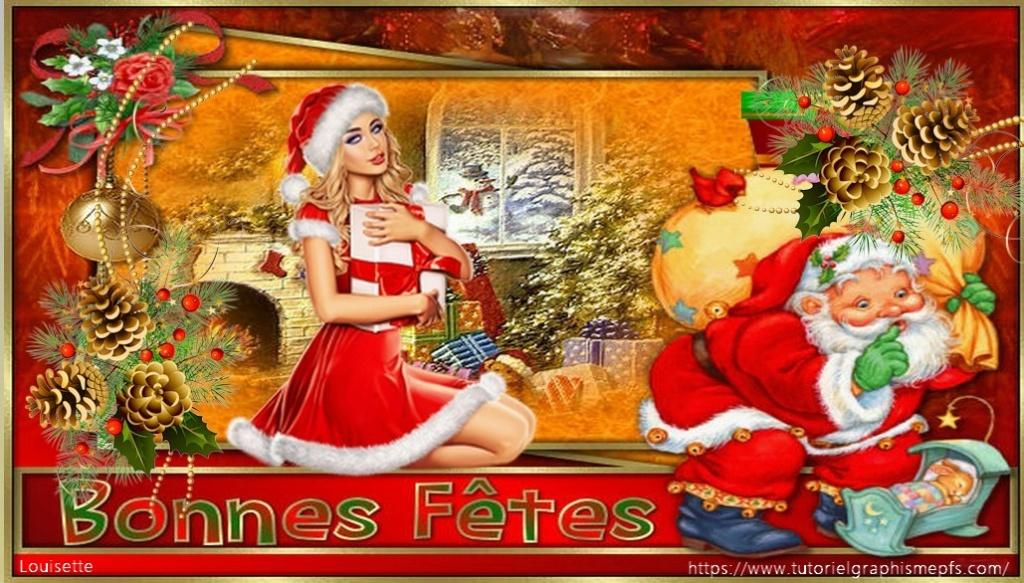 """Logo """"Fête """"Noël 2020 ►Servez vous Sans_114"""