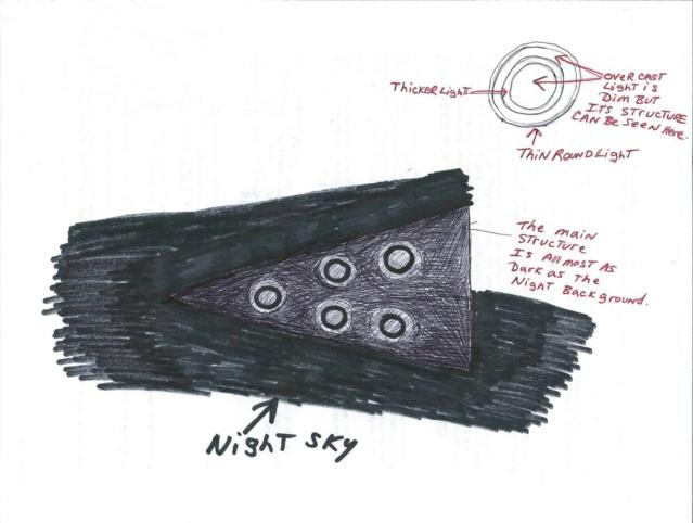 Les observations d'ovnis triangulaires analysées par la SCU 55489210
