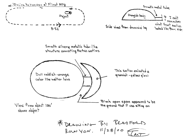 (1968) L'observation de Minot (Dakota du Nord) Bda37810