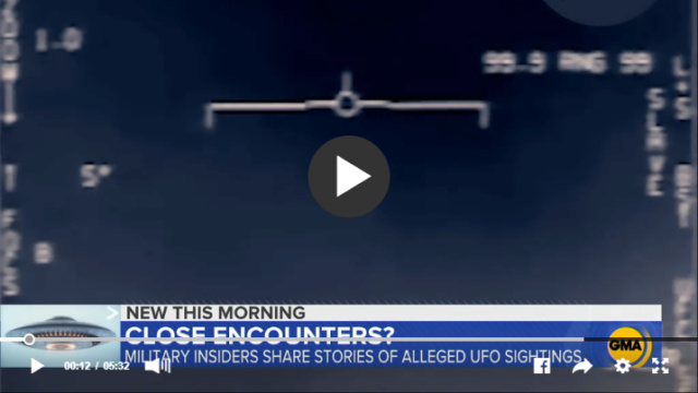 Quand cinq pilotes de l'US Navy décrivent des rencontres récentes faites grâce à un nouveau radar embarqué Screen11