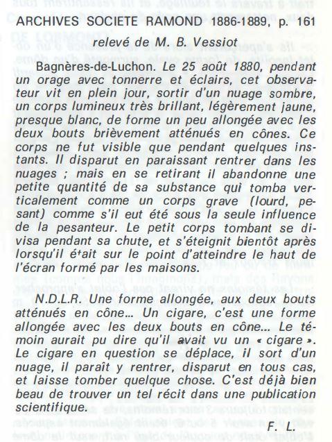 1981: le 06/07- ovni cylindrique sans hublots- Luchon -Haute-Garonne (dép.31) Bagnzo10