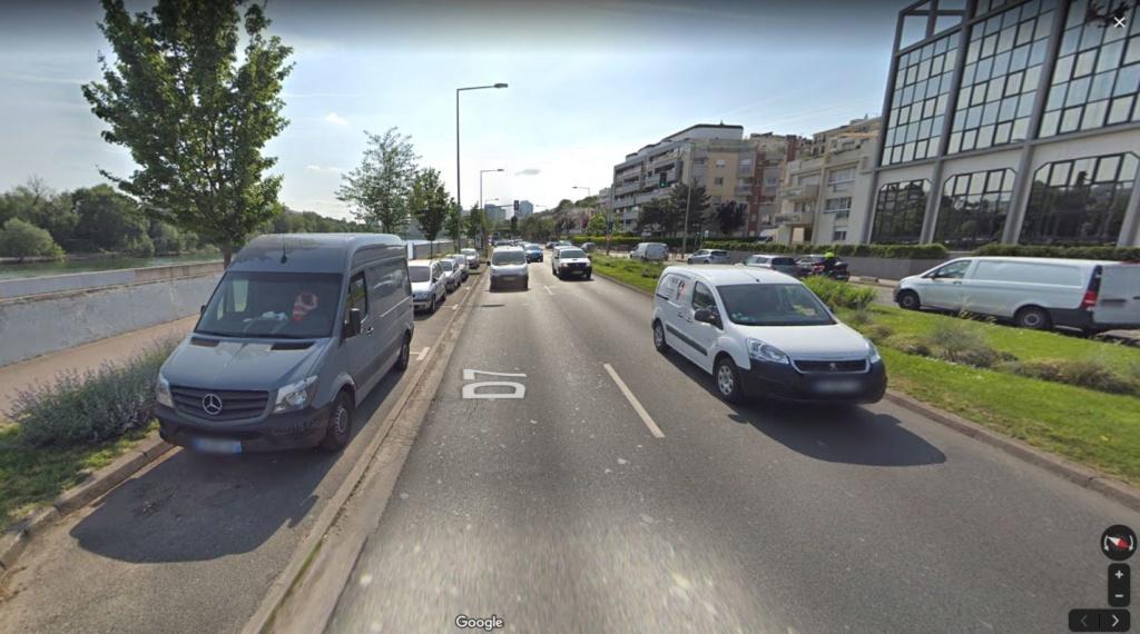 Le 26/11 à 03h00 - Engin triangulaire volant - Courbevoie - Hauts-de-Seine (Dép.92) Courbe10
