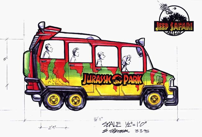 Trademarks filed for new 'Jurassic World' themed area Jpjeep12