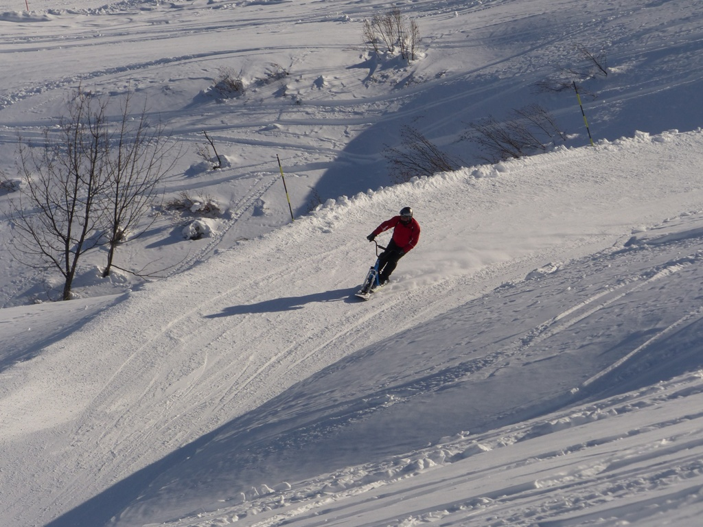 2019/01 - Sortie SnowScoot - 73 Savoie (Espace Diamant). 06_fev17