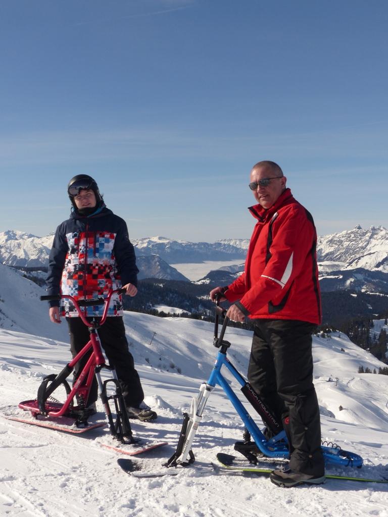 2019/01 - Sortie SnowScoot - 73 Savoie (Espace Diamant). 06_fev39