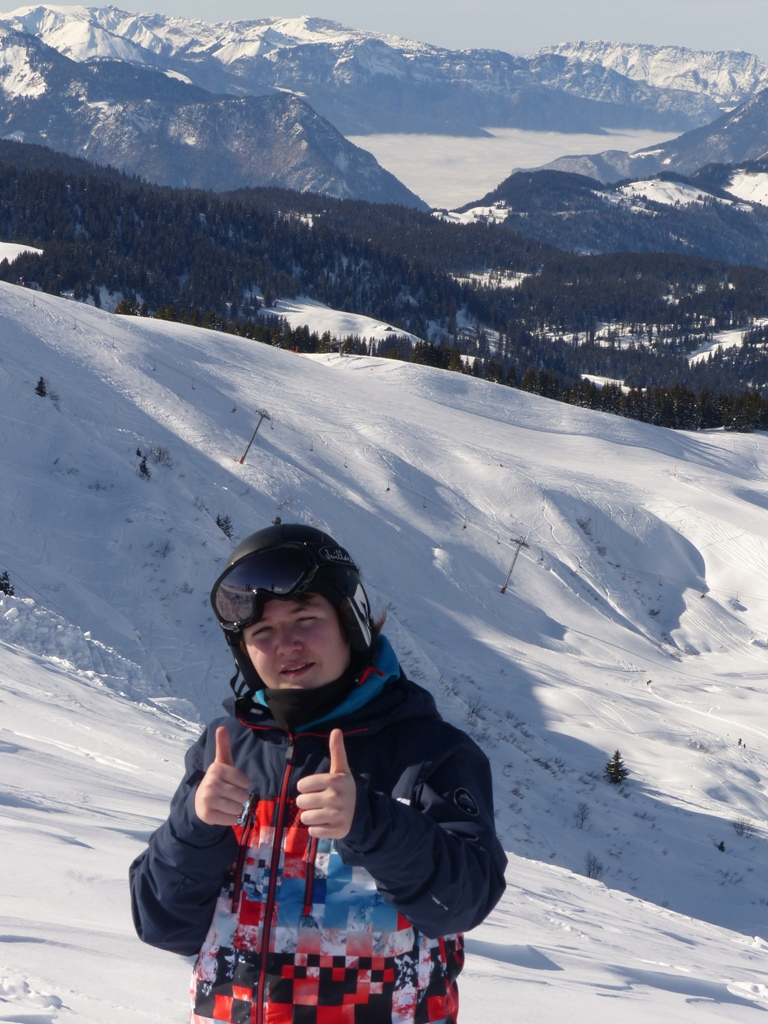 2019/01 - Sortie SnowScoot - 73 Savoie (Espace Diamant). 06_fev40
