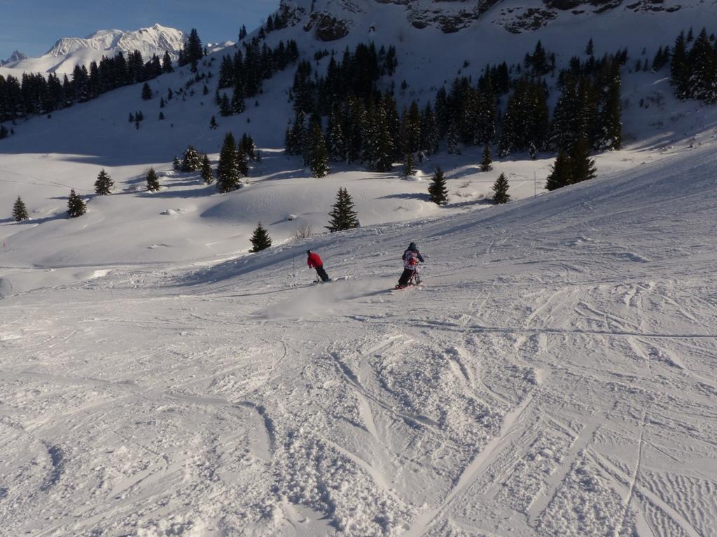 2019/01 - Sortie SnowScoot - 73 Savoie (Espace Diamant). 06_fev50