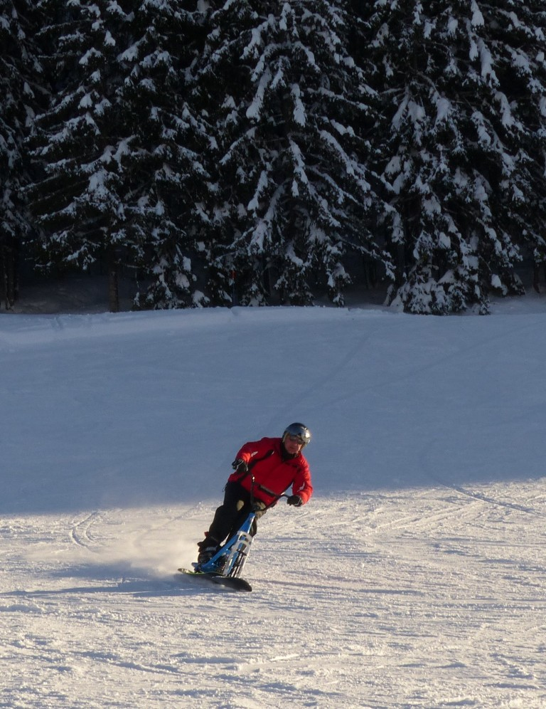 2019/01 - Sortie SnowScoot - 73 Savoie (Espace Diamant). 06_fev64