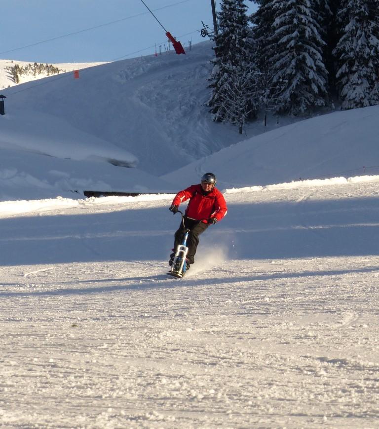 2019/01 - Sortie SnowScoot - 73 Savoie (Espace Diamant). 06_fev66