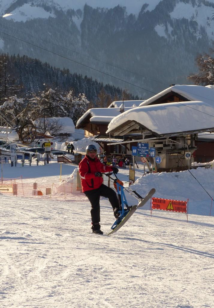 2019/01 - Sortie SnowScoot - 73 Savoie (Espace Diamant). 06_fev67
