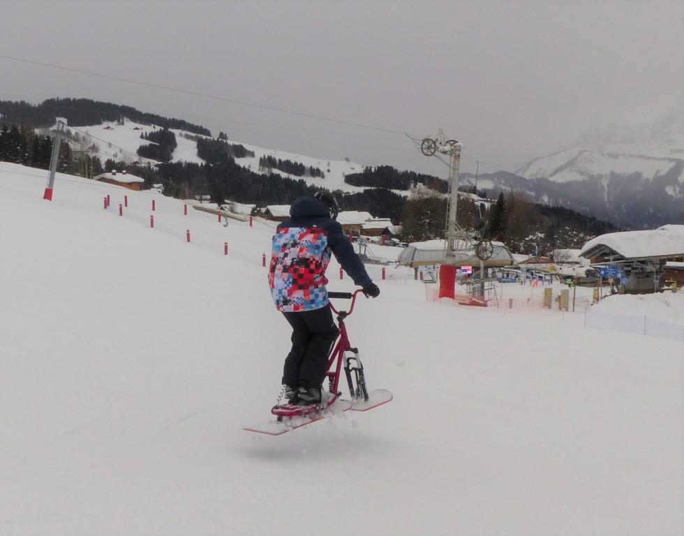 2019/01 - Sortie SnowScoot - 73 Savoie (Espace Diamant). 07_fev10