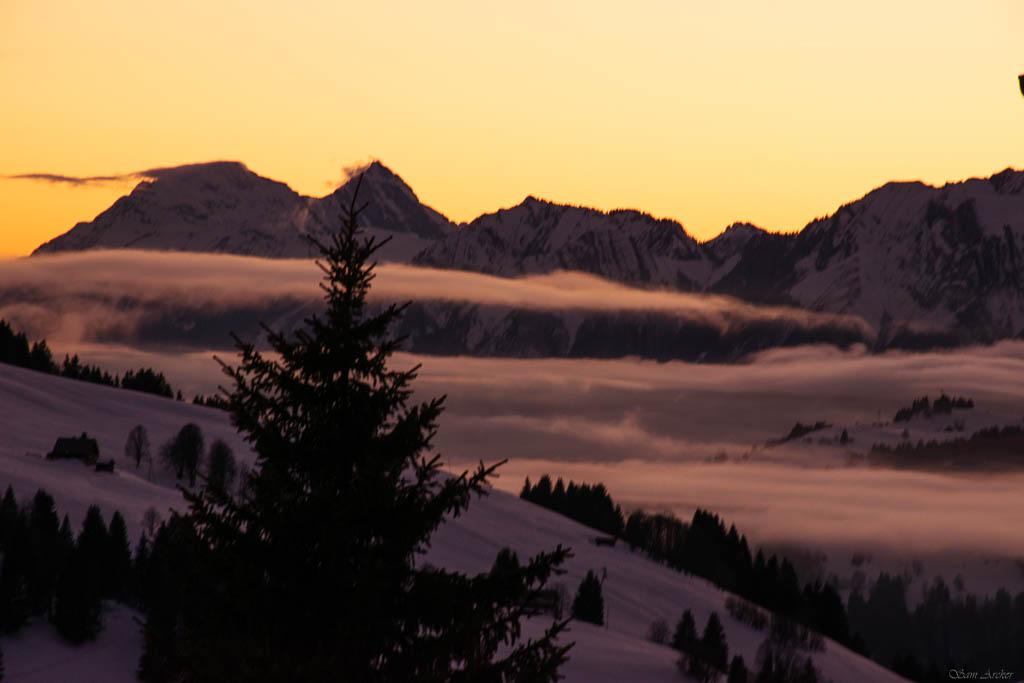 2020/01 - Compte-rendu Entrainement SnowScoot - Savoie (73). Paysag10