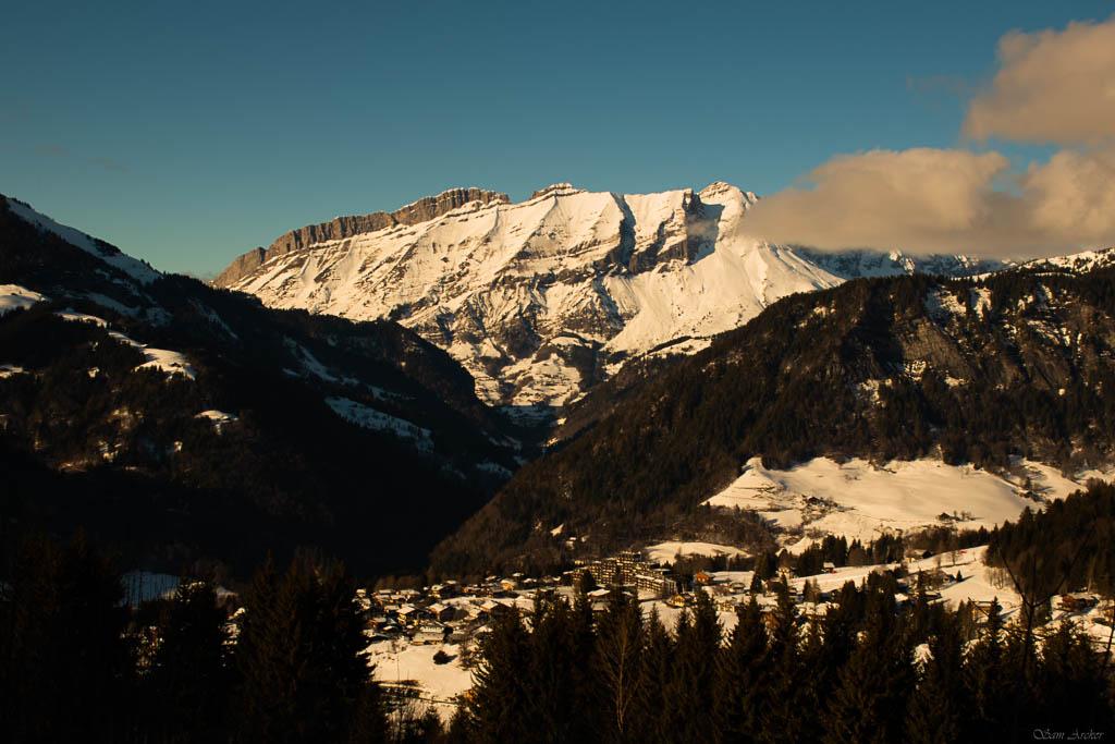 2020/01 - Compte-rendu Entrainement SnowScoot - Savoie (73). Paysag12
