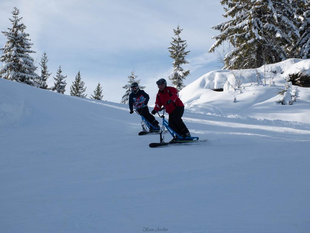 2020/01 - Compte-rendu Entrainement SnowScoot - Savoie (73). Ski_110